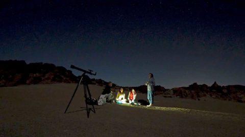 Астротур — Ночной Тейде с телескопом