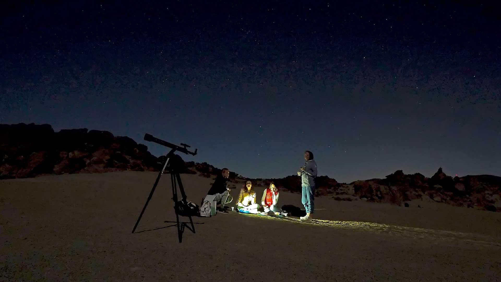 Экскурсия Ночной Тейде с телескопом
