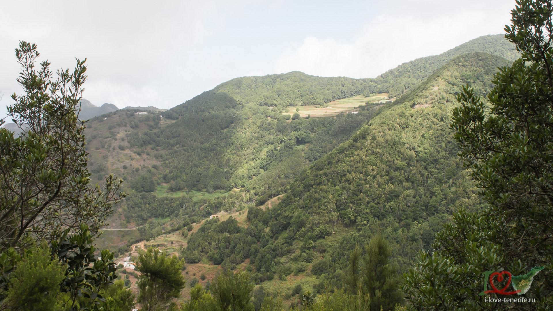Пеший маршрут в Cruz de Carmen, Anaga, Tenerife