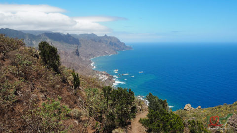 Ла Лагуна — горный хребет Анага — Таганана