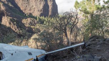 Пеший маршрут к упавшему самолету