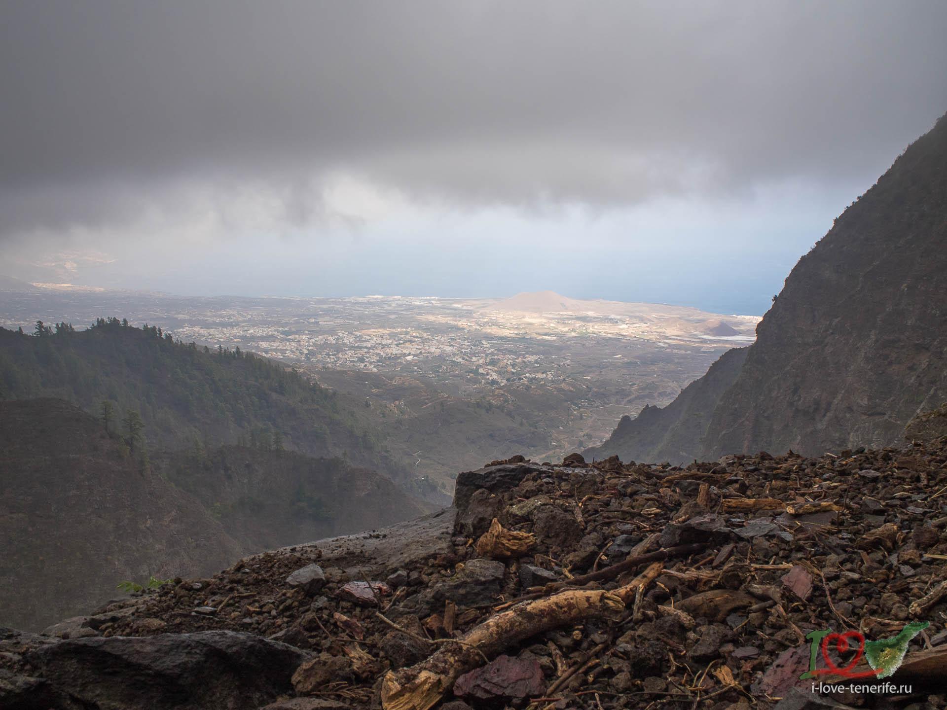 Пеший маршрут Ventanas de Güímar