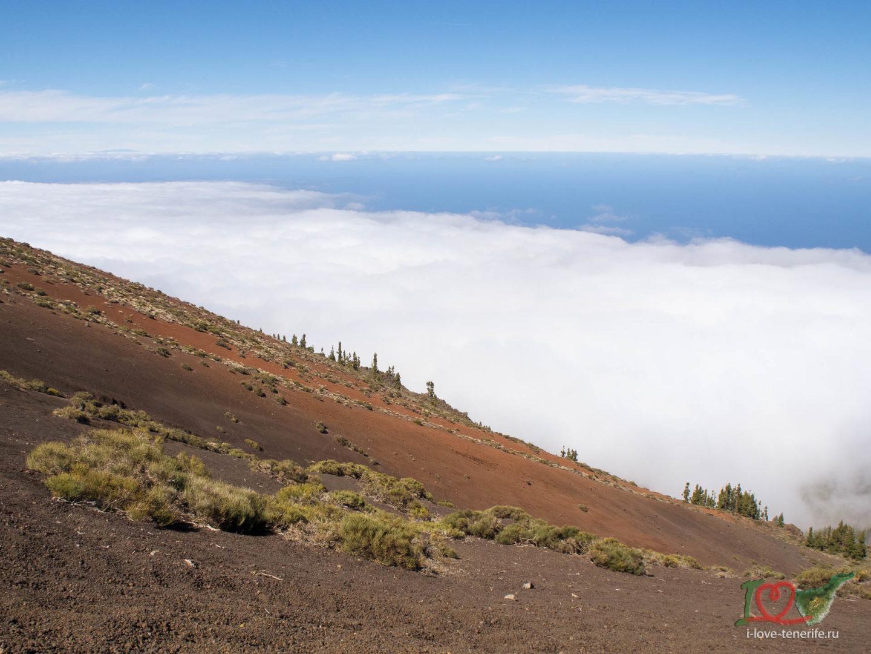 Облака в горах Тенерифе
