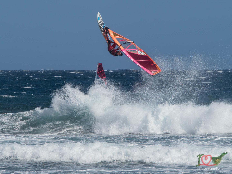 сильный ветер пассат, погода на Тенерифе