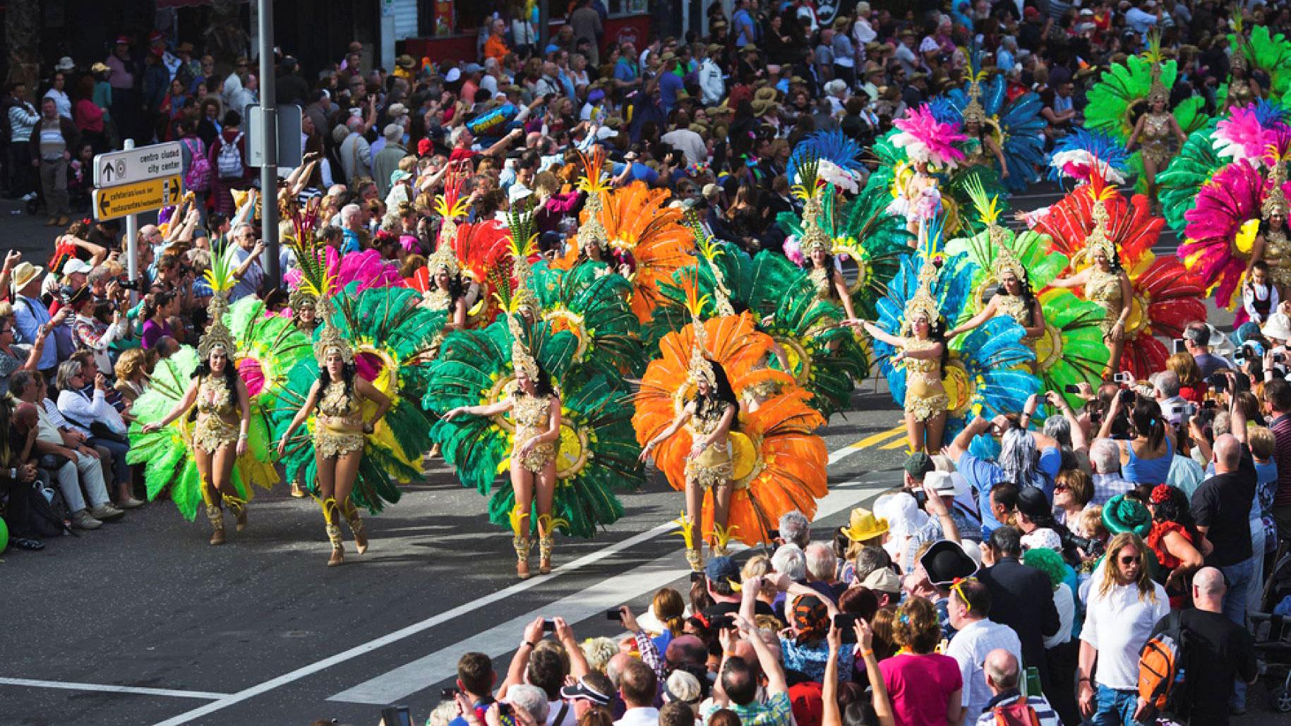 Календарь Карнавала на Тенерифе 2019