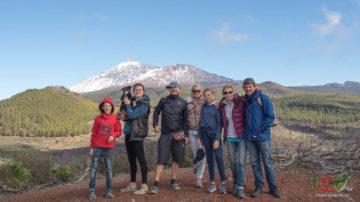 Пеший поход по горам Тенерифе