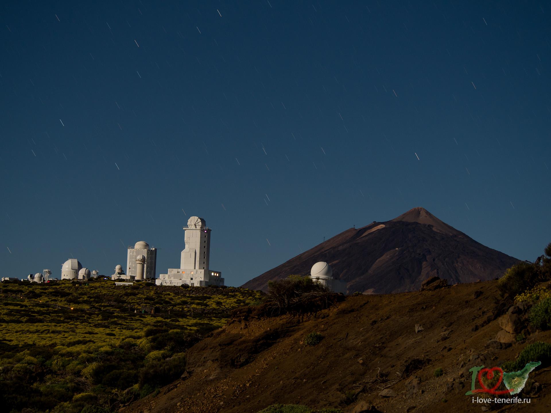 Ночная экскурсия с телескопом на в
