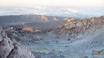 Кратер вулкана Тейде
