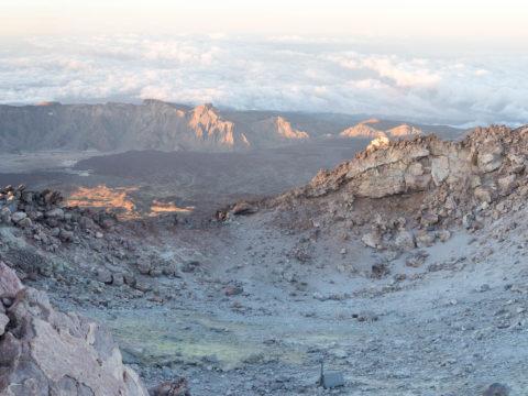 Подъем на Pico del Teide 3718 м