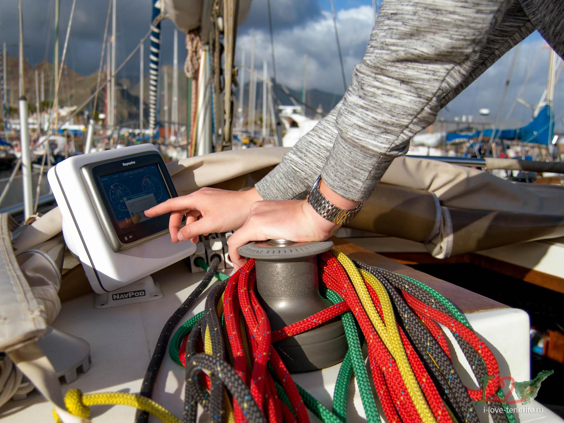 Прогулки на яхте по Канарским остр