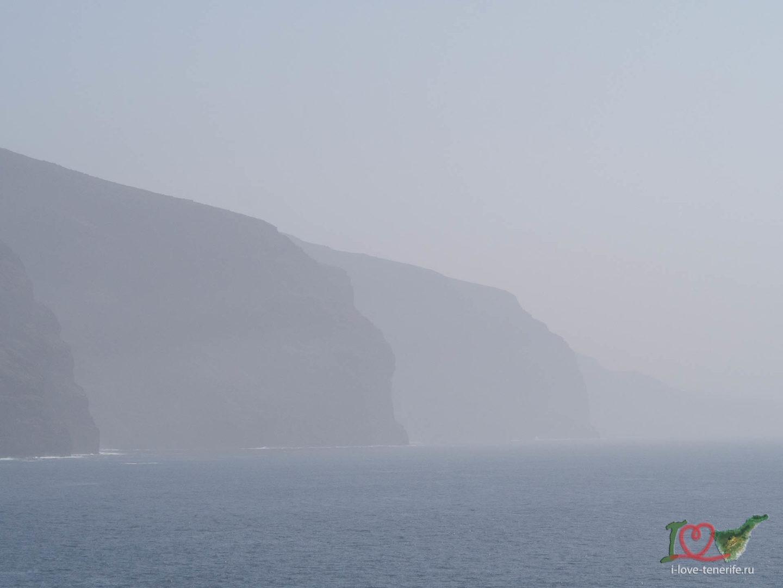 Песчаная буря Калима на Тенерифе